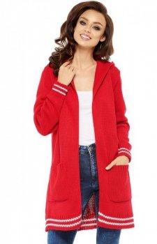 Lemoniade LS210 sweter kardigan czerwony