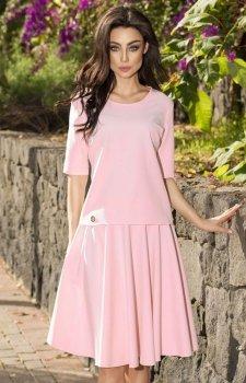 Lemoniade L237 sukienka pudrowy róż