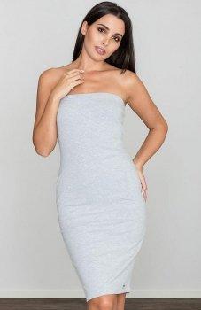 Figl M575 sukienka szara
