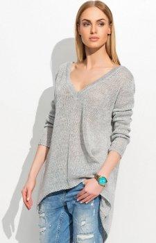 Makadamia S38 sweter szary