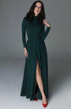 Madnezz Storm sukienka butelkowa zieleń