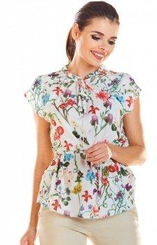 Bluzka w kwiaty M194