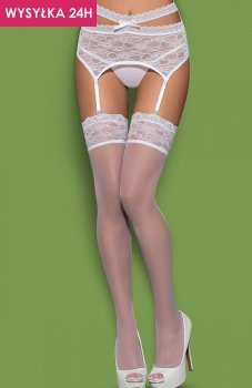 Obsessive Swanita stockings pończochy