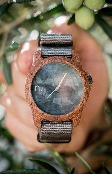 Neat Sport sapelli zegarek drewniany męski