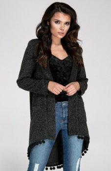 Nommo NA252 sweter czarny