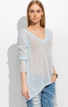 Makadamia S38 sweter błękitny