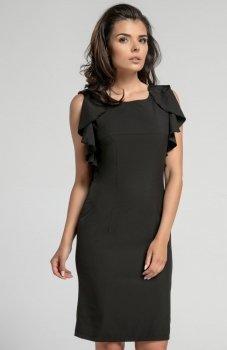 Nommo NA567 sukienka czarna