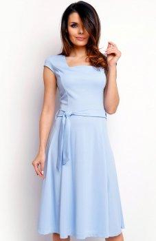 Nommo NA401 sukienka błękitna