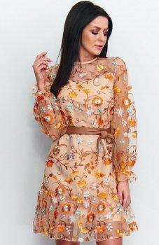 Roco R-194 sukienka pomarańczowa