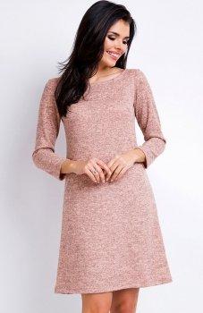 Awama A162 sukienka różowa
