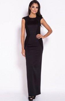 Długa sukienka Miron czarna