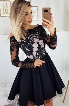 Bicotone 2137-06 sukienka czarna