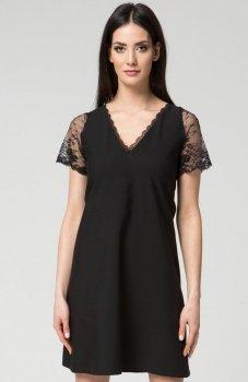 Mosali M039 sukienka czarna