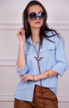 Koszulowa bluzka damska 0050