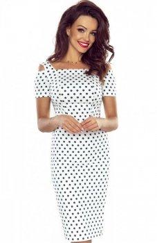 Bergamo Roxi sukienka biała
