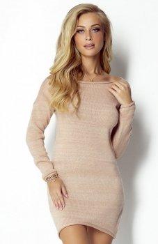Fimfi I300 sukienka morelowa