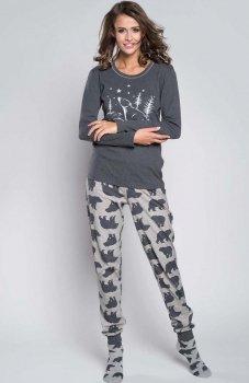 Italian Fashion Arctic dł.r. dł.sp. piżama