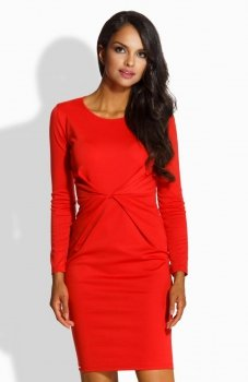 Lemoniade L219 sukienka czerwona