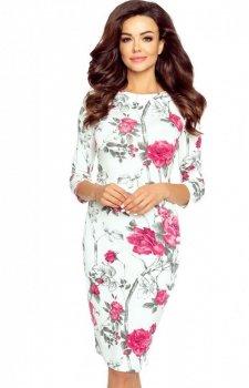 Bergamo Eleonora sukienka w kwiaty
