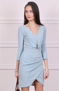 *Roco 0230 sukienka niebieska