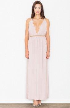 Figl M483 sukienka różowa