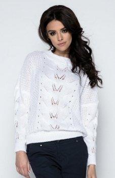 Fobya F482 sweter biały