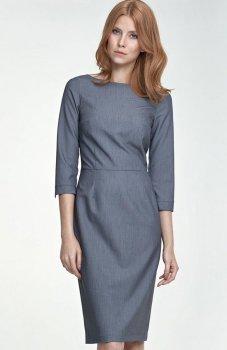*Nife S80 sukienka szara