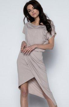*Fobya F499 sukienka mocca