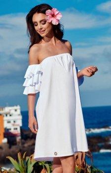 Lemoniade L252 sukienka biała