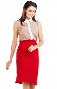 Spódnica Awama czerwona A255