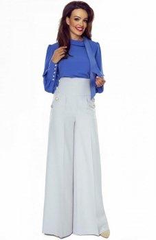 Bergamo spodnie typu szwedy szare