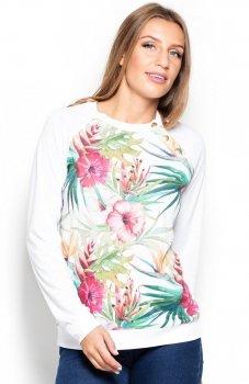 Katrus K405 bluza kwiaty