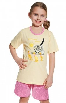 Cornette 787/49 Kids Girl Cat&Duck piżama