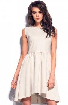 Lemoniade L179 sukienka beżowa