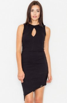 Figl M486 sukienka czarna