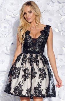 Bicotone 2153-16 sukienka czarna