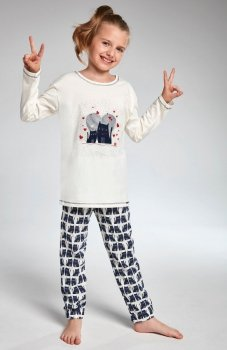 Cornette Young Girl 975/94 Two Cats piżama