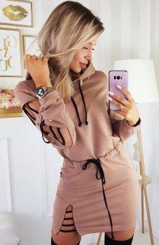 Carmel Inez sukienka beżowa