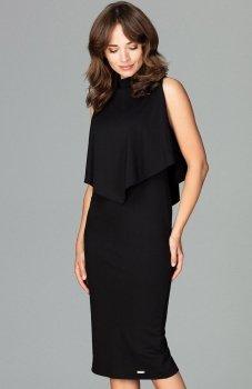 Lenitif K480 sukienka czarna