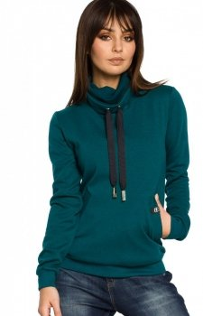 BE B055 bluza zielona