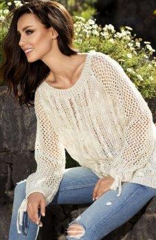 Lemoniade LS201 sweter beżowy