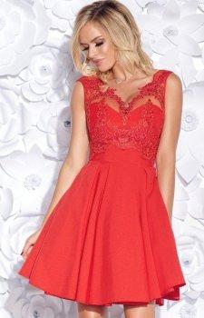 Bicotone 2156-02 sukienka czerwona