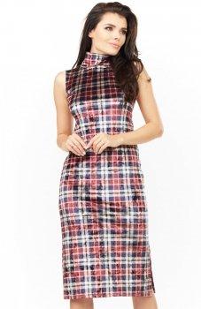 Awama A202 sukienka kratka