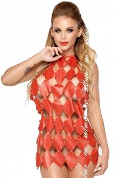 Skórzana sukienka erotyczna Gwen