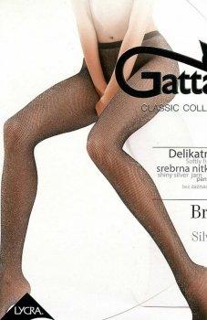 Gatta Brigitte 02 Rete Lurex rajstopy