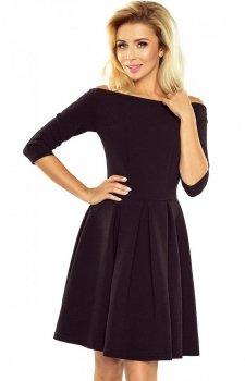 *Numoco 163-1 sukienka czarna