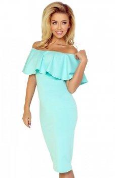 *SAF 138-3 sukienka miętowa