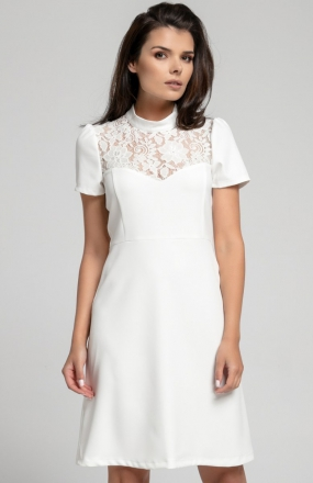Nommo NA306 sukienka ecru