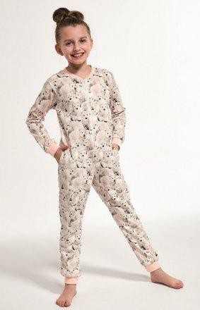 Cornette Kids Girl 105/119 Polar Bear 2 dł/r 86-128 kombinezon dziewczęcy
