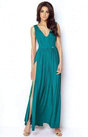 Ivon Rebeca sukienka morska